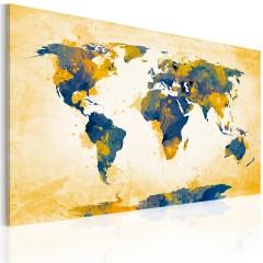 Artgeist Wandbild - Four corners of the World