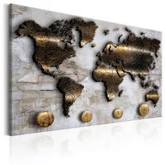 Artgeist Wandbild - Golden Journey