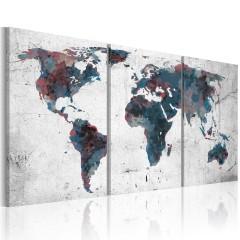 Artgeist Wandbild - Kontinentaldrift