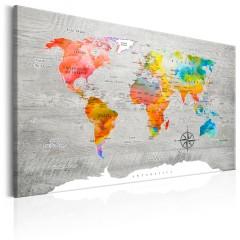 Artgeist Wandbild - Multicolored Travels