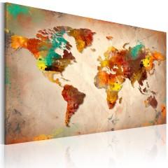 Artgeist Wandbild - Painted World