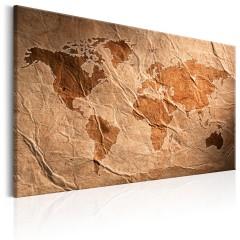 Artgeist Wandbild - Paper Map