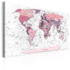 Artgeist Wandbild - Pink Frontiers