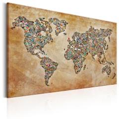 Artgeist Wandbild - Postcards from the World