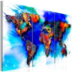 Artgeist Wandbild - Rainbow map