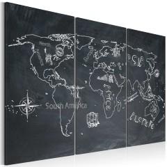 Artgeist Wandbild - Reisen bildet - Triptychon