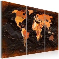 Artgeist Wandbild - Remarkable Map