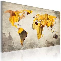 Artgeist Wandbild - Sonnige Kontinente