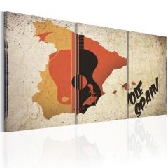 Artgeist Wandbild - Spanien: Gitarre und Flamenco