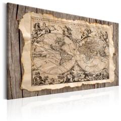 Artgeist Wandbild - The Map of the Past