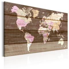 Artgeist Wandbild - The Wooden World