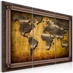 Artgeist Wandbild - The World in a Frame