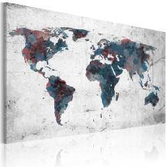 Artgeist Wandbild - Unentdeckte Kontinente