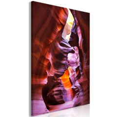 Artgeist Wandbild - Antelope Canyon (1 Part) Vertical