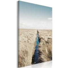 Artgeist Wandbild - Ditch (1 Part) Vertical