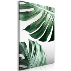 Artgeist Wandbild - Monstera Leaves (1 Part) Vertical