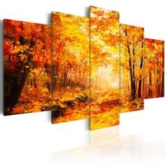 Artgeist Wandbild - Autumn Alley
