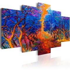 Artgeist Wandbild - Blue Valley