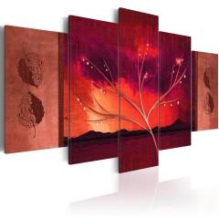 Artgeist Wandbild - Carmine Autumn