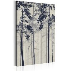 Artgeist Wandbild - Forest In Fog