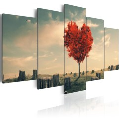 Artgeist Wandbild - Loneliness Tree
