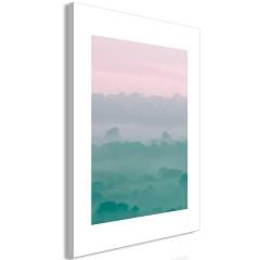 Artgeist Wandbild - Foggy Dawn (1 Part) Vertical