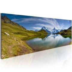 Artgeist Wandbild - Mountain lake