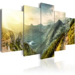 Artgeist Wandbild - Slovak mountain landscape