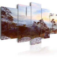 Artgeist Wandbild - Turm und Horizont