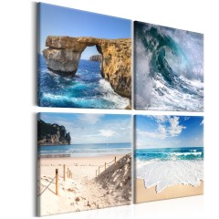 Artgeist Wandbild -  The Beauty of the Ocean