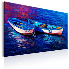 Artgeist Wandbild - Abandoned Boats