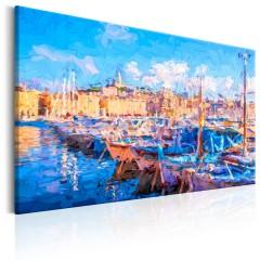 Artgeist Wandbild - Blue Port