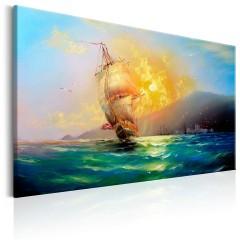 Artgeist Wandbild - Burning Sky