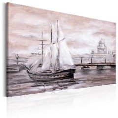 Artgeist Wandbild - Charming Port