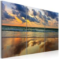Artgeist Wandbild - Ein Traum vom Sommer und Meer