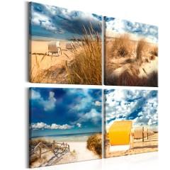 Artgeist Wandbild - Holiday at the Seaside