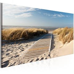 Artgeist Wandbild - Holiday at the Seaside (1 Part) Wide