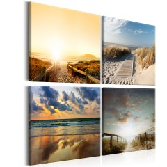 Artgeist Wandbild - On The Beach of Dreams