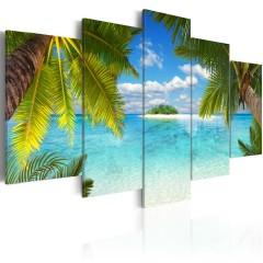 Artgeist Wandbild - Paradise island