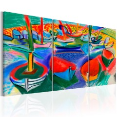 Artgeist Wandbild - Sea of Colours