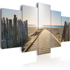 Artgeist Wandbild - Sea Promenade
