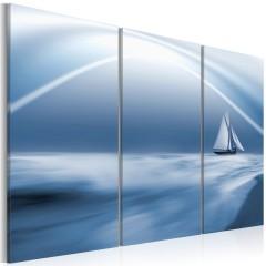 Artgeist Wandbild - Segeln in den Wolken