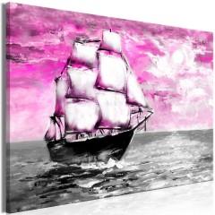 Artgeist Wandbild - Spring Cruise (1 Part) Wide Pink