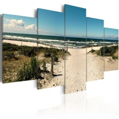 Artgeist Wandbild - The Beach of Dreams