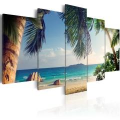 Artgeist Wandbild - Under palm trees