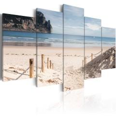 Artgeist Wandbild - Walk by the sea