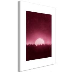 Artgeist Wandbild - Full Moon (1 Part) Vertical
