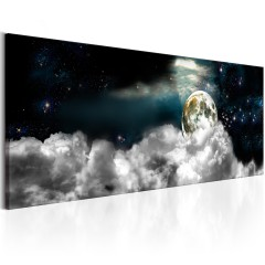 Artgeist Wandbild - Moon in the Clouds