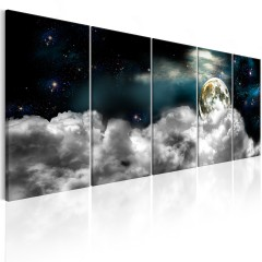 Artgeist Wandbild - Moon in the Clouds I