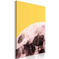 Artgeist Wandbild - Sunny Moon (1 Part) Vertical
